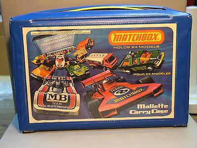 Matchbox Carry Case 1976 Canada Holds 24 Models