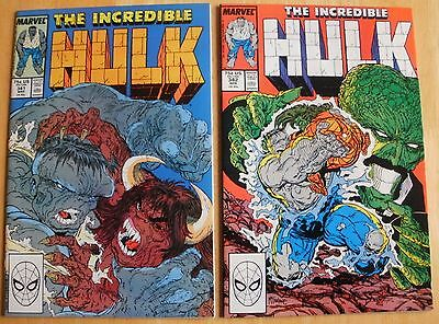 Incredible Hulk # 341,342,343,344,345,346   Peter David
