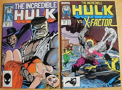 Incredible Hulk # 335,336,337,338  Peter David
