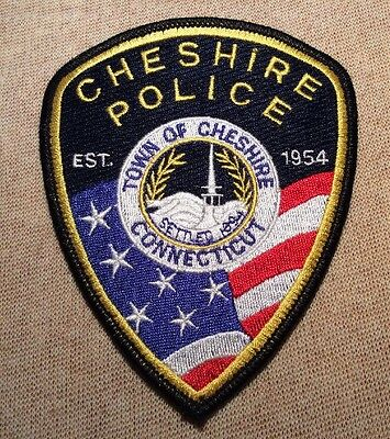 CT Cheshire Connecticut Police Patch