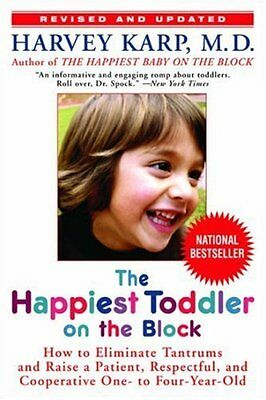 Happiest Toddler on the Block by Harvey Karp Paperback Book New