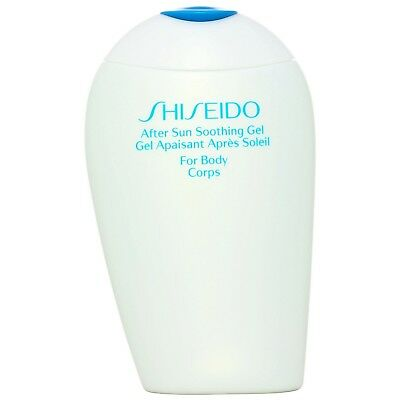 NEW Shiseido Solar Treatment After Sun Soothing Gel 150ml for women FREE P&P