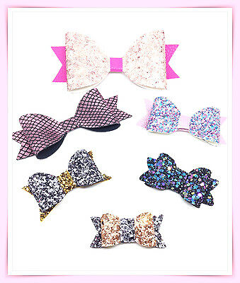 NEW!! Plastic Hair Bow Templates Make Your Own Hair Bows- Clips-Slides-Bands