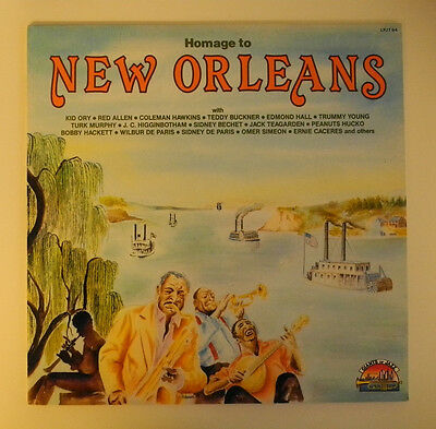 Lp It**various - Homage To New Orleans (Sarabandas '89)***12912