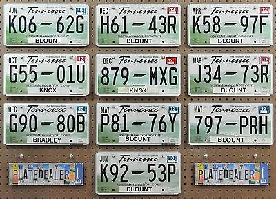10 TENNESSEE Rolling Hills Flat License Plates Tags Signs Man Cave Decor LOT 662