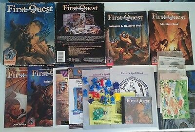 Advanced Dungeons & Dragons First Quest, 2nd Edition Audio CD Boxed Game TSR