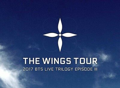 BTS WINGS TOUR March 24th Newark Prudential Center