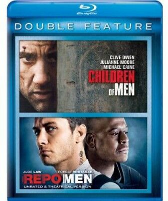 Children of Men / Repo Men [New Blu-ray] 2 Pack, Snap Case
