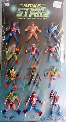 Very rare collection máster of the universe Bootleg 80s