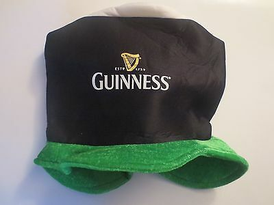 Guinness Saint Patrick's Day 17th March Ireland Eire Large Hat