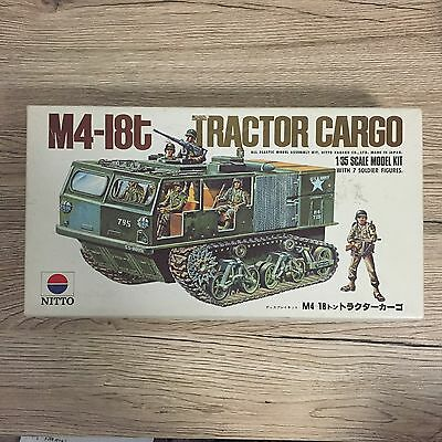 Nitto 1/35 Scale M4-18t Tractor Cargo Model Kit Art .No.91