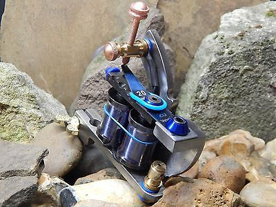 Custom Tattoo Machine Raw Steel Liner -No1 -Used Spare Parts-Frame-Coils-Ink