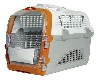 Catit Design Cabrio Pet Carrier - Cat/Toy Dog - IATA Airline Approved RRP £39.99