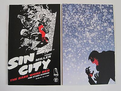Sin City One shots - The babe wore red : Silent night by Frank Miller