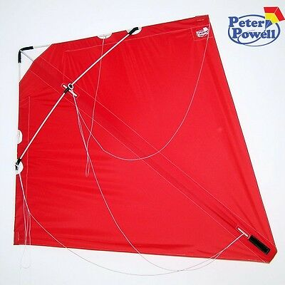 PETER POWELL Dual Line Stunt Kite MKIII RED  - Adults Kids Outdoor Sport Toy