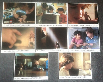Set Of 8 Original Lobby Cards The Indian In The Cupboard