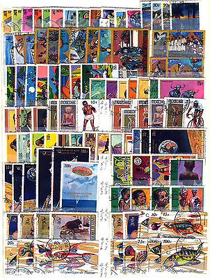 Republic Of Guinea 1967 – 1971 ***** 100 Stamps ***** 2 Mint