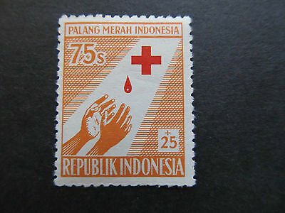 1956 - Indonesia - Outstretched Hands - Scott B96 Sp50 75S + 25S (1)