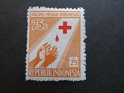 1956 - Indonesia - Outstretched Hands - Scott B96 Sp50 75S + 25S (2)