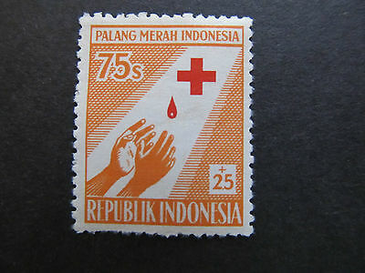 1956 - Indonesia - Outstretched Hands - Scott B96 Sp50 75S + 25S (3)