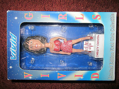 CHRISTY CANYON Bobblehead MINT unopened N.I.B...LOOK..