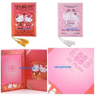 Hello Kitty Wedding Certificate Album With Photo Frame-Chinese Western 5808