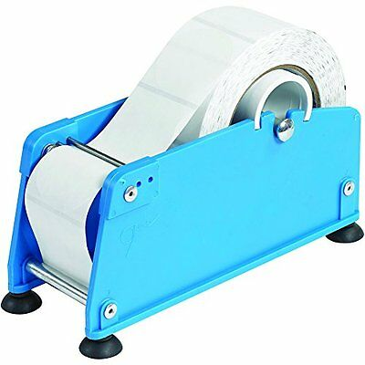 BOX USA BMLD200 Mailing Label Dispenser 2in Blue, New