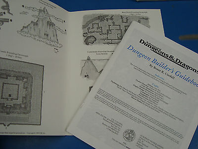 New (Some Opened) 7x AD&D Books, sheets, Dungeon World Builders Greyhawk etc