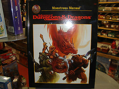 New Beautiful Condition AD&D Monstrous Manual Advanced Dungeons and Dragons 2.0