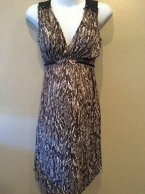 Liz Lange Maternity XS Nursing Dress With Tiebacks
