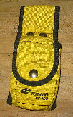 Topcon Carry Case RC-100 / 200 Remote Control for Pipe Lasers