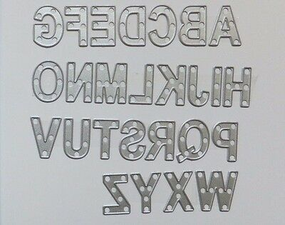 Stampin Up Sizzix Big Shot Little Letters Thinlits Dies 133730