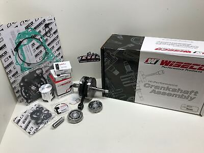 Yamaha Yz 125 Wiseco Engine Rebuild Kit Crankshaft, Piston, Gaskets 2005-2016