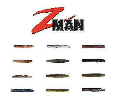 "Z MAN FINESSE BIG TRD (THE REAL DEAL) 4"" 6 PACK select colors"