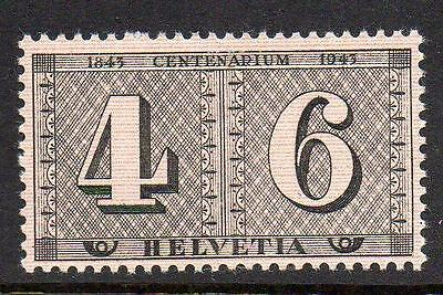 Switzerland MNH 1943 The 100th Anniversary of the Swiss Stamps