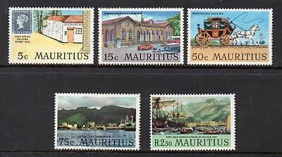 Mauritius MNH 1970 Port Louis, the Birthplace of Philately