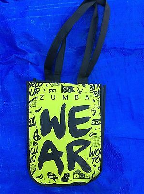 NEW Design Zumba Wear World Tour Tote Bag 9x12x4 Travel/Cosmetic/Gym/Shoe/Lunch