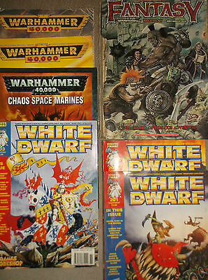 Job lot Warhammer Books Including Fantasy Role Play & Rule Book