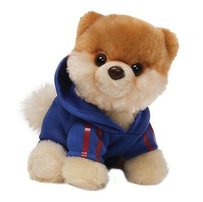 "Gund 5"" Itty Bitty Boo The Worlds Cutest Dog Cuddly Soft Plush Toy Jogging Suit"