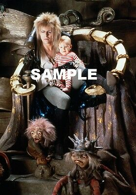 "David Bowie Labyrinth 8"" x 6"" Movie Photo Print  The Goblin King"