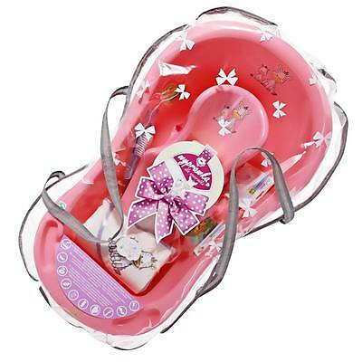 Newborn Baby Shower Gift Set bath gift Zebra collection with accessories Pink
