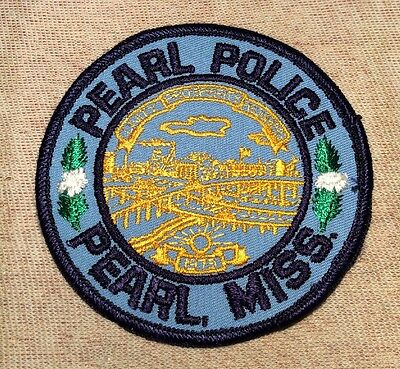 MS Pearl Mississippi Police Patch