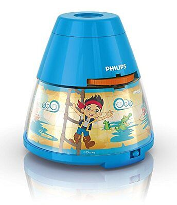 Philips Jake and The Never Land Pirates Projecteur et veilleuse LED NEW