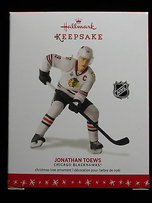 Hallmark Keepsake 2016 Jonathan Toews Chicago Blackhawks Ornament NIB