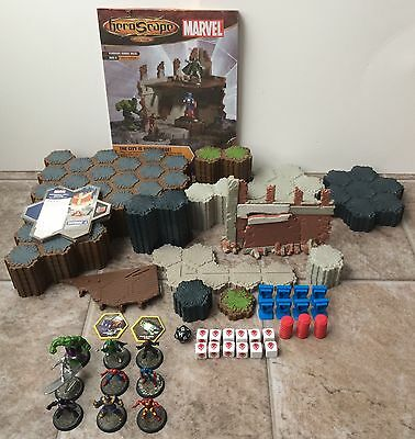 Heroscape Marvel The Battle Of All Time Near Complete With Rules