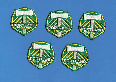 5 Lot Portland Timbers NASL MLS Soccer Patches Crests B