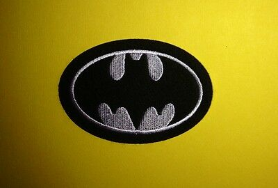 Batman Collectable Iron On Jacket Hoodie Hat Backpack Patch Crest A