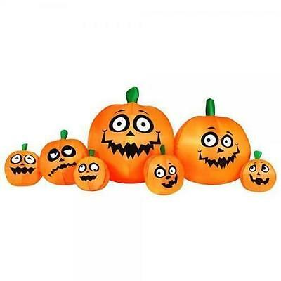 Halloween Pumpkin Patch Inflatable In/outdoor Yard Decoration Blow Up Holiday
