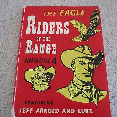 Vintage Annual Riders Of The Range  Annual 4 The Eagle  J. Arnold & Luke