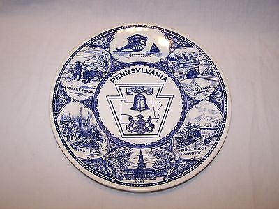State Collectors Plate - Pennsylvania
